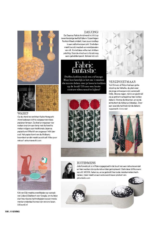 Blauwe Design Bank.Press Juko Studio